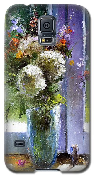 Bouquet At Window Galaxy S5 Case