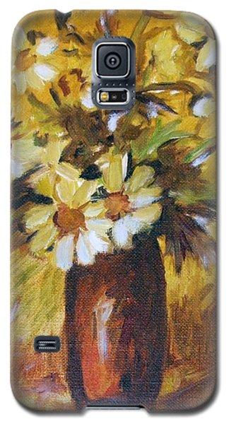 Bouquet Flowers Of Gold Galaxy S5 Case