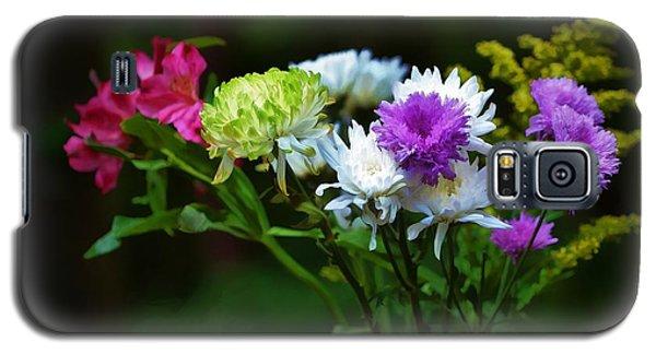 Bouquet Of Flowers Galaxy S5 Case