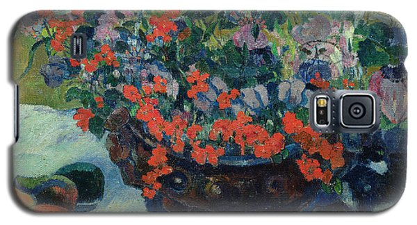 Bouquet Of Flowers Galaxy S5 Case by Paul Gauguin