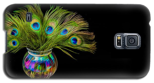 Bouquet Of Peacock Galaxy S5 Case