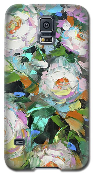 Bouquet Of Peonies  Galaxy S5 Case by Dmitry Spiros