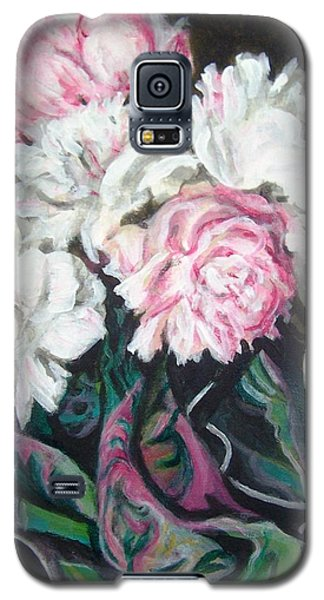Bouquet Of Peonies Galaxy S5 Case