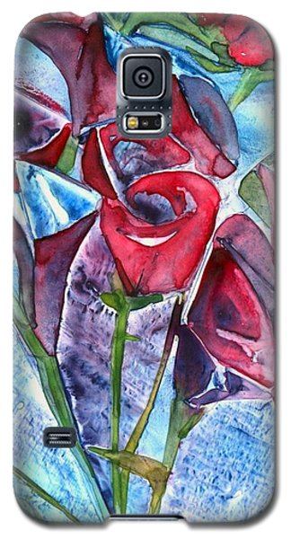 Bouquet Of Roses Galaxy S5 Case