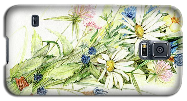 Bouquet Of Wildflowers Galaxy S5 Case