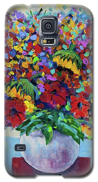 Bouquet With Two Sunflowers Galaxy S5 Case