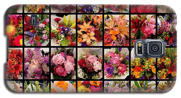 Bouquets Galaxy S5 Case by Farol Tomson