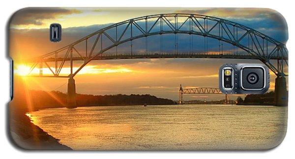 Bourne Bridge Sunset Galaxy S5 Case