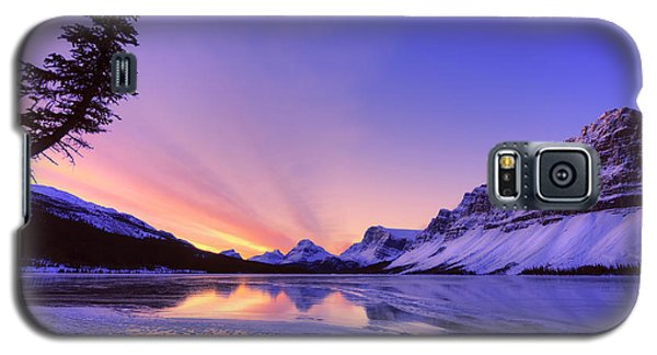 Bow Lake And Pine Galaxy S5 Case