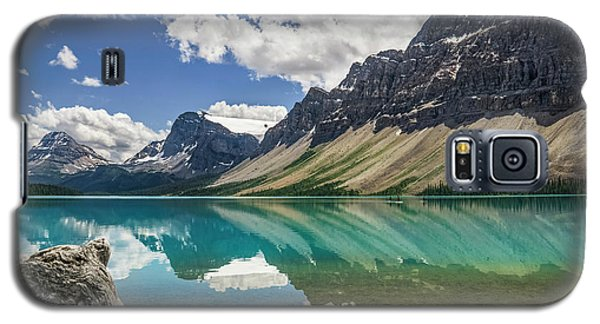 Galaxy S5 Case featuring the photograph Bow Lake by Christina Lihani