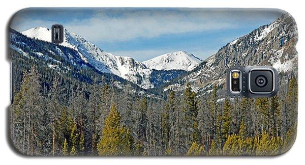 Bowen Mountain In Winter Galaxy S5 Case