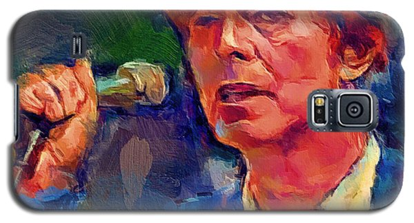 Bowie Singing 2 Galaxy S5 Case