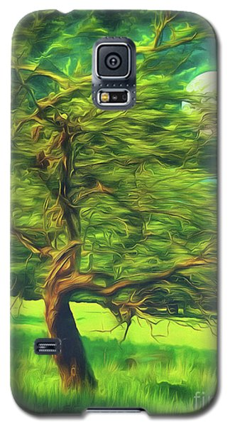 Bowing To The Moon Galaxy S5 Case