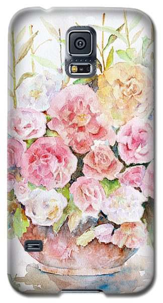 Bowl Full Of Roses Galaxy S5 Case