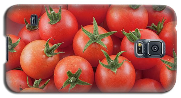Galaxy S5 Case featuring the photograph Bowl Of Cherry Tomatoes by James BO Insogna