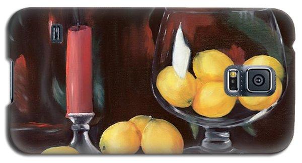 Bowl Of Lemons Galaxy S5 Case by Carol Sweetwood