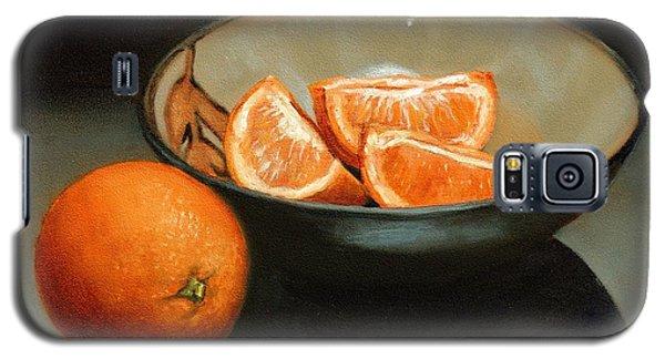 Bowl Of Oranges Galaxy S5 Case