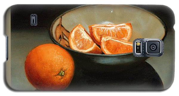 Bowl Of Oranges Galaxy S5 Case