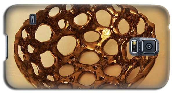 Galaxy S5 Case featuring the photograph Bowle Of Holes by Itzhak Richter