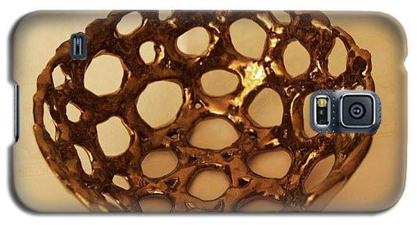 Bowle Of Holes Galaxy S5 Case by Itzhak Richter
