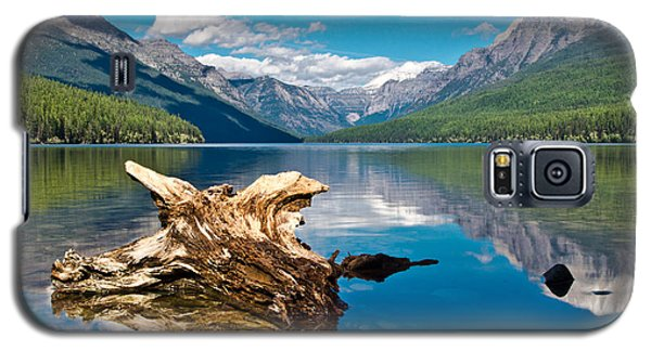Bowman Lake 1, Glacier Nat'l Park Galaxy S5 Case