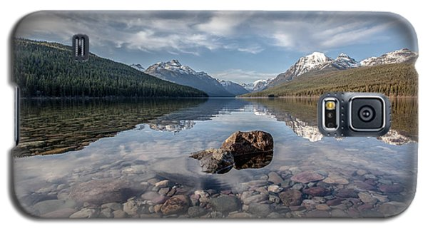 Bowman Lake Rocks Galaxy S5 Case by Aaron Aldrich