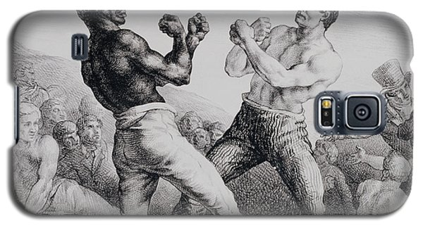Sport Art Galaxy S5 Case - Boxers by Theodore Gericault
