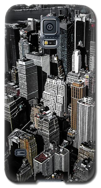 Times Square Galaxy S5 Case - Boxes Of Manhattan by Nicklas Gustafsson