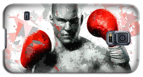 Galaxy S5 Case featuring the painting Boxing 114 by Movie Poster Prints