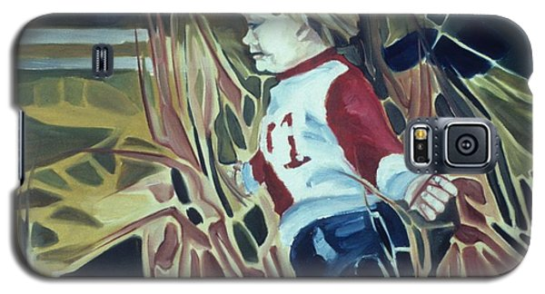 Boy In Grassy Field Galaxy S5 Case