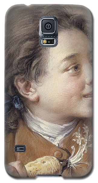 Boy With A Carrot, 1738 Galaxy S5 Case by Francois Boucher