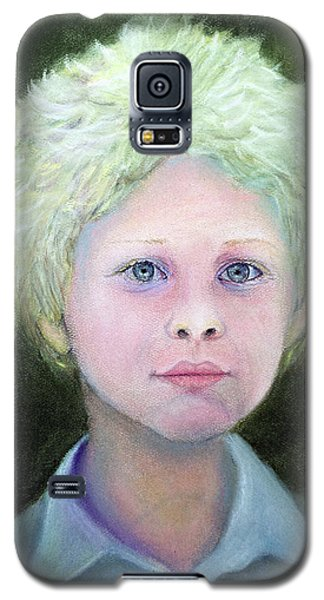 Boy With Curly Hair Galaxy S5 Case