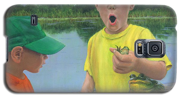 Boys And Frogs Galaxy S5 Case