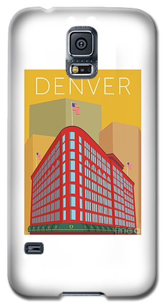 Denver Brown Palace/gold Galaxy S5 Case