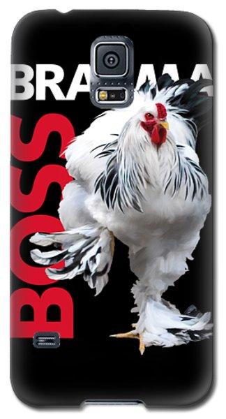 Brahma Boss T-shirt Print Galaxy S5 Case