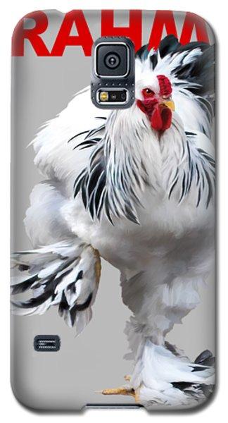 Brahma Breeders Rock Red Galaxy S5 Case