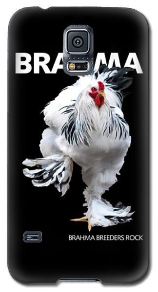 Brahma Breeders Rock T-shirt Print Galaxy S5 Case