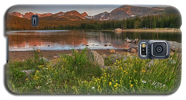 Galaxy S5 Case featuring the photograph Brainard Lake by Gary Lengyel