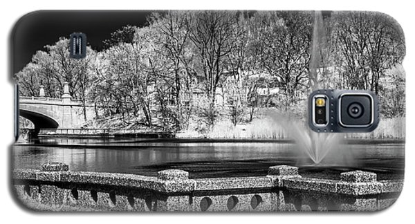 Galaxy S5 Case featuring the photograph Branch Brook Park New Jersey Ir by Susan Candelario