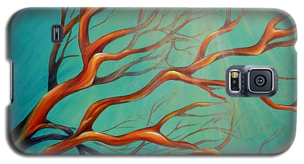 Galaxy S5 Case featuring the painting Branching Out by Dina Dargo