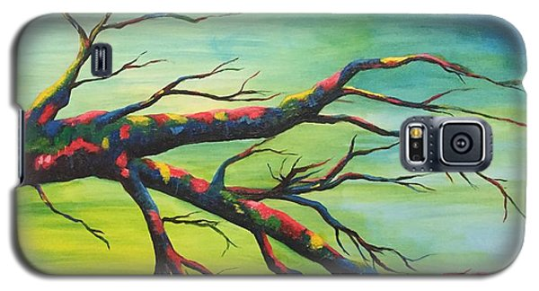 Branching Out In Color Galaxy S5 Case