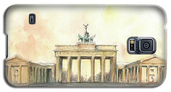 Berlin Galaxy S5 Case - Brandenburger Tor, Berlin by Juan Bosco