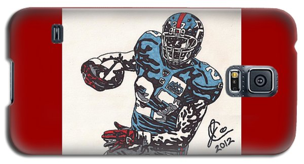 Brandon Jacobs 1 Galaxy S5 Case by Jeremiah Colley