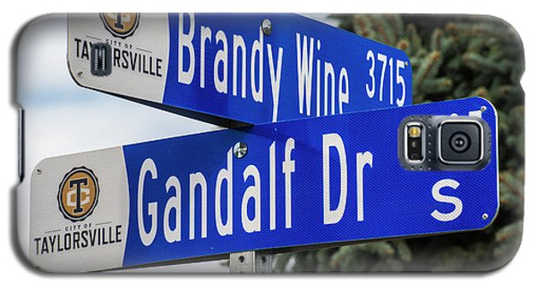 Brandywine And Gandalf Street Signs Galaxy S5 Case by Gary Whitton