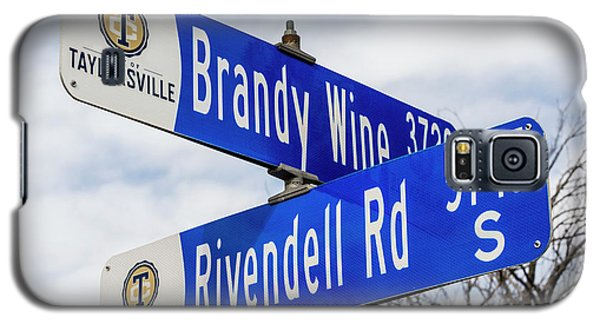 Brandywine And Rivendell Street Signs Galaxy S5 Case by Gary Whitton