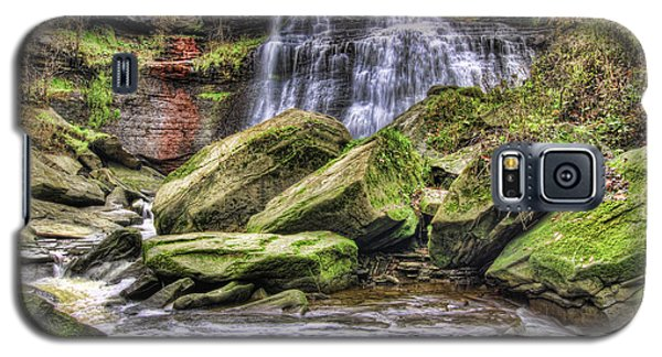 Galaxy S5 Case featuring the photograph Brandywine Falls by Brent Durken