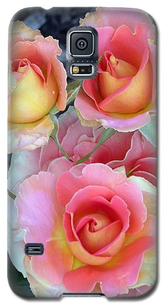 Brass Band Roses Galaxy S5 Case