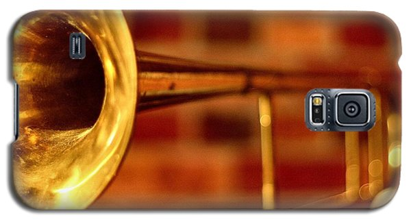 Brass Trombone Galaxy S5 Case by David  Hubbs
