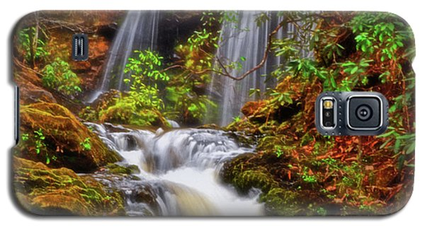 Brasstown Falls 013 Galaxy S5 Case by George Bostian
