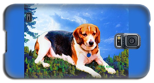 Bravo The Beagle Galaxy S5 Case
